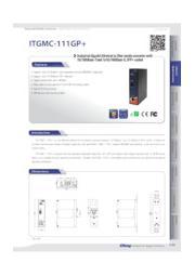 【シンプル設計/10G光メディアコンバータ】:ITGMC-111GP+ 表紙画像