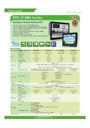 IEI 15インチ Intel H81搭載パネコン【PPC-F15A】 表紙画像