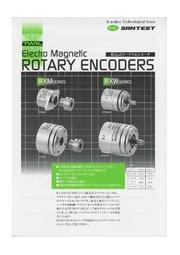 磁気式ロータリエンコーダ 表紙画像
