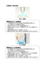 水アカがつきにくい防汚コーティング剤 『シュレコ AFシリーズ』 表紙画像