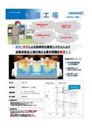 暑さ対策 換気システム導入事例 【自動車部品工場編】 表紙画像