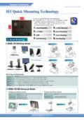 IEI VESA75/100 デスクトップスタンド【STAND-210】 表紙画像