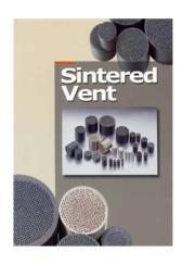 金型用ガス抜きベント『スリットベント・粉末冶金ベント』 表紙画像