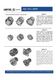 Hermetically Sealed Connectors(MIL-DTL-38999) 表紙画像