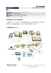 排水処理施設でのパルサールブ自動給油装置設置事例 表紙画像