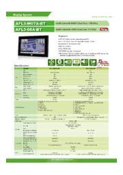 IEI 8インチファンレスタッチパネルPC【AFL3-08A-BT】 表紙画像