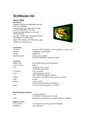 Toucan-0700 製品カタログ 表紙画像