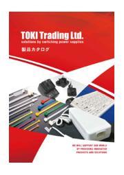 トキトレーディング株式会社 製品カタログ 表紙画像