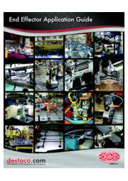 エンドエフェクター・真空カップ「アプリケーションガイド」 表紙画像