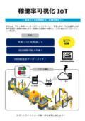『稼働率可視化 IoTシステム』