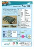 デジタルビデオレコーダー・ボード Axdvr1000 表紙画像