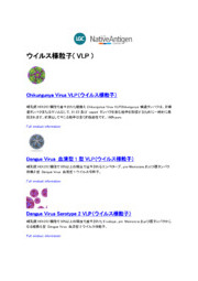 ウイルス様粒子(VLP) 表紙画像