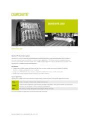 DUROXITE 200データシート【英語版】  表紙画像
