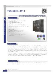 EN50155準拠デバイスサーバ TDS-5041-I-M12 表紙画像