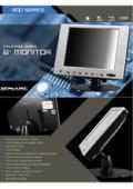 液晶ディスプレイ XENARC 800TSV 製品カタログ 表紙画像