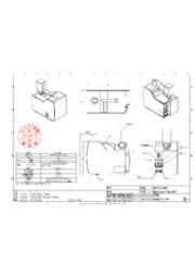 気流可視化装置「KCV-M01」仕様図 表紙画像