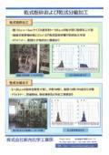 乾式粉砕および乾式分級加工