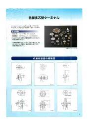 各種 多芯型ターミナル 表紙画像