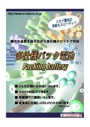 多仕様パック電池 表紙画像