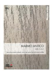 西洋漆喰『マルモ アンティコ』 表紙画像