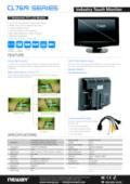 液晶ディスプレイ NEWAY CL7619NA/NTA 製品カタログ 表紙画像
