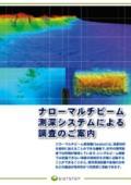 ナローマルチビーム測深システムによる調査 E-SYSTEM