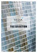 採用事例と価格で選ばれるタイルの魅力と空間演出を徹底紹介!名古屋モザイク×渡辺パイプ『TILE SELECTION』製品カタログ 表紙画像