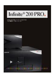 物理化学実験の多サンプル処理にInfinite200 PRO 表紙画像