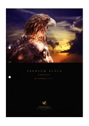 鳥害対策製品カタログ『プレミアムブラックシリーズ』 表紙画像