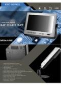 液晶ディスプレイ XENARC 1020TSV 製品カタログ 表紙画像