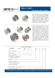 Hermetically Sealed Connectors(MIL-C-5015MIL) 表紙画像