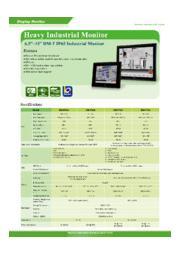 IEI 12インチ産業用タッチパネルモニタ【DM-F12A】 表紙画像