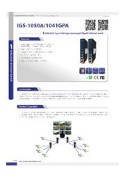 ORing 5ポート非管理型ギガイーサネットスイッチ【IGS-1050A】 表紙画像