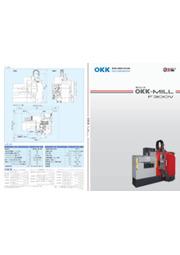 鋼材加工機『OKK-MILL F300V』 表紙画像