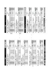 インクジェット用紙、価格一覧表 表紙画像