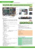 IEI 3.5インチ規格組込用ファンレスCPUボード【WAFER-BW】 表紙画像