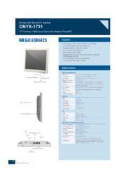 ONYX 17インチ医療用タッチパネルPC【ONYX-1731】 表紙画像