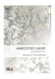 メタリック塗料『マルコポーロラグジュアリー』 表紙画像