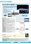 小型PC IEI ECN-581A-QM57 製品カタログ 表紙画像