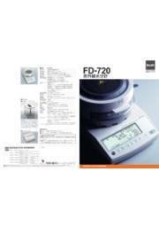 赤外線水分計 FD-720 表紙画像