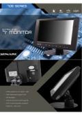 液晶ディスプレイ XENARC 705TSV 製品カタログ 表紙画像
