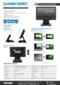 液晶ディスプレイ NEWAY CL1010N/NT 製品カタログ 表紙画像