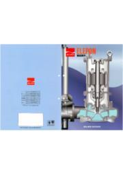 ポンプ・水処理関連『ELEPON製品案内』 表紙画像