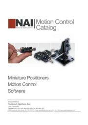 NAI モーションコントロールカタログ 表紙画像