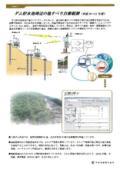 【事例1】ダム貯水池周辺の地すべり自動観測(平成20~21年度)