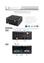 Jetway 小型NUC PC 3画面表示対応【HBJC313U691(W)】 表紙画像