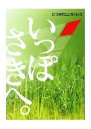 ツシマエレクトリック オリジナル製品カタログ『いっぽさきへ』 表紙画像