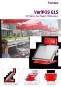 Poindus VariPOS-615 製品カタログ 表紙画像