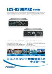 M.2、CAN Bus/M12コネクタ付ニーズによる最新第7世代CPU選定頂けるIPC ECS-9200MXCシリーズ 表紙画像