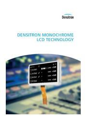 モノクロ液晶モジュール カタログ 表紙画像